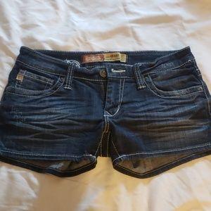 Big star jean shorts sz 27